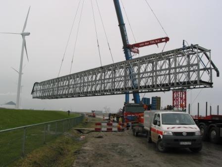 retro footbridge